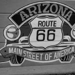 """Arizona Route 66 Sign"" by photocatphoto"