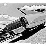 """1960 Cadillac Poster"" by Automotography"
