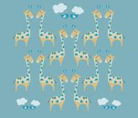 Cute Giraffes Illustration