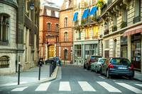 A Colorful Paris Street