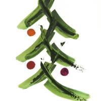 Christmas Tree 2015 Art Prints & Posters by MARINA KANAVAKI