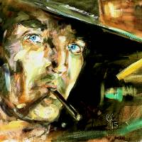 Once Upon A Time In The West Art Prints & Posters by Ginette Callaway