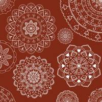 White Red Mandala