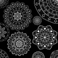 White Black Mandalas