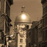 """Montreal Dome of Marché Bonsecours"" by Ffooter"
