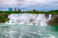 Lush Niagra Falls by Marcus Panek
