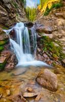 Middle Creek Falls by Marcus Panek