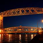 """Duluth MN Aerial Lift Bridge"" by cameragal"