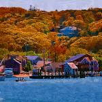"""New England Fall Coastline"" by Kirtdtisdale"