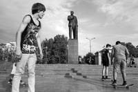 Lenin and Skateboards in Crimea