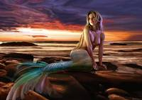 Sunset Mermaid