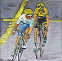 Quintana vs Froome on Climb