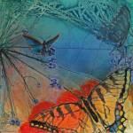 """""""Butterfly Garden"""" by DianaNadalFineArt"""