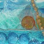 """Raising the Nets II"" by DianaNadalFineArt"