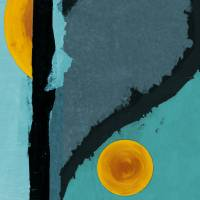 Turquoise Twelve Art Prints & Posters by MARINA KANAVAKI