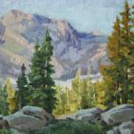 """High Alpine Morning_9x12_oil_2013_599"" by kevinmccain"