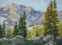 High Alpine Morning_9x12_oil_2013_599