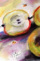 Big Apple and Bees by Ginette