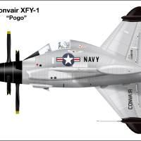 XFY-1 Pogo Art Prints & Posters by Jim Caiella