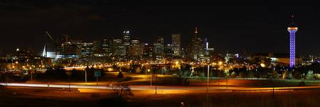 Denver at Night
