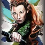 """Tauriel /Evangeline Lilly/"" by MelanieD"