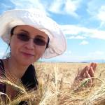"""Isabela_Dunklin_wheat_grain_Romania_field 2015"" by easyfigure"