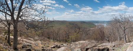 Scenic View Over Bear Mountain