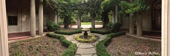 Meditation Garden at Van Vleck Manor