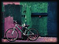 Bicycle in Green