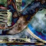 """Railroad - Latrobe Station 4 edit 5"" by SandraGouldFord"