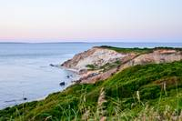 Lush Green Cliffs of Aquinnah