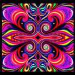 """""""Cosmic Orgasm Fire Spirit"""" by cybergypsyarts"""