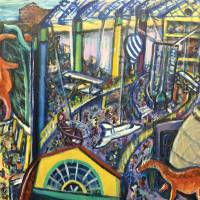 Indianapolis Children's Museum and IMAX Theater Art Prints & Posters by Nicholai Shaver