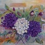 """Garden of Peonies"" by karenjlee"