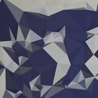 Cool Black Blue Abstract Low Polygon Background
