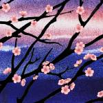 """Cherry Blossoms Decorative Painting"" by IrinaSztukowski"