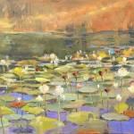 """""""Hushing Pond"""" by MakinArt"""