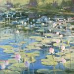 """Contemplation Pond"" by MakinArt"