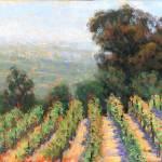 """Mountain Vineyard View II"" by MakinArt"