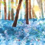 """Bluebell Wood"" by valzart"