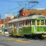 """Riverfront Loop Trolley 454"" by edbock"