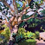 """""""Summer Meditation Garden"""" by BeaconArtWorksCorporation"""