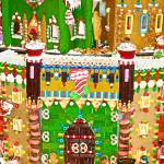"""Gingerbread Village Study 2"" by robertmeyerslussier"