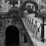 """Savannah Archways - Black and White"" by Groecar"