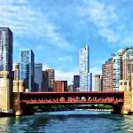 """Chicago IL - Lake Shore Drive Bridge"" by susansartgallery"
