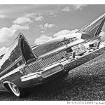 """""""1957 Lincoln Premier BW"""" by Automotography"""