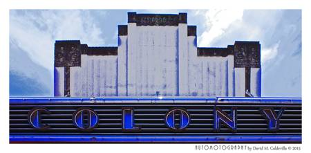 Miami Beach, Colony Theatre 2 color
