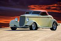 1934 Ford Convertible Coupe