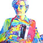 """ANDY WARHOL MEDIA MAN"" by DavidLloydGlover"