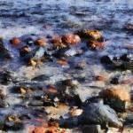 """""""Saltwater Mosaic"""" by RCdeWinter"""